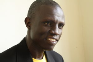 Alfred Ochaya, Resilience Champion for SALVE in Jinja, Uganda